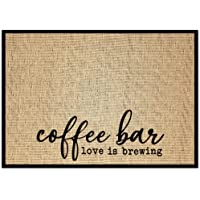 New Mungo Coffee Bar Mat - Coffee Bar Decor for Coffee Station - Coffee Bar Accessories for Coffee Decor - Love is…