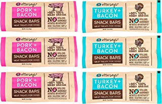 product image for ETTA SAYS! Meat Treats for Dogs – Pack of 6 – Made in The USA, Human Grade, No Added Hormones, No Nitrates or Nitrites, No MSG, Gluten-Free, Soy-Free