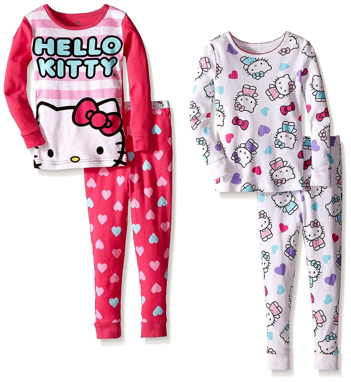 Komar Kids Girls' Hello Kitty 4 Piece Cotton Sets K182062HK