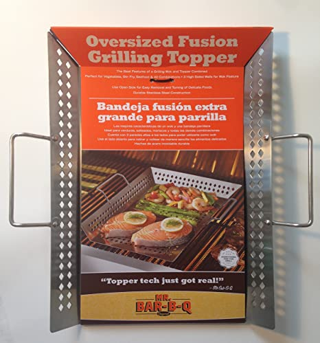 Amazon.com : Oversized Fusion Grilling Topper : Garden & Outdoor