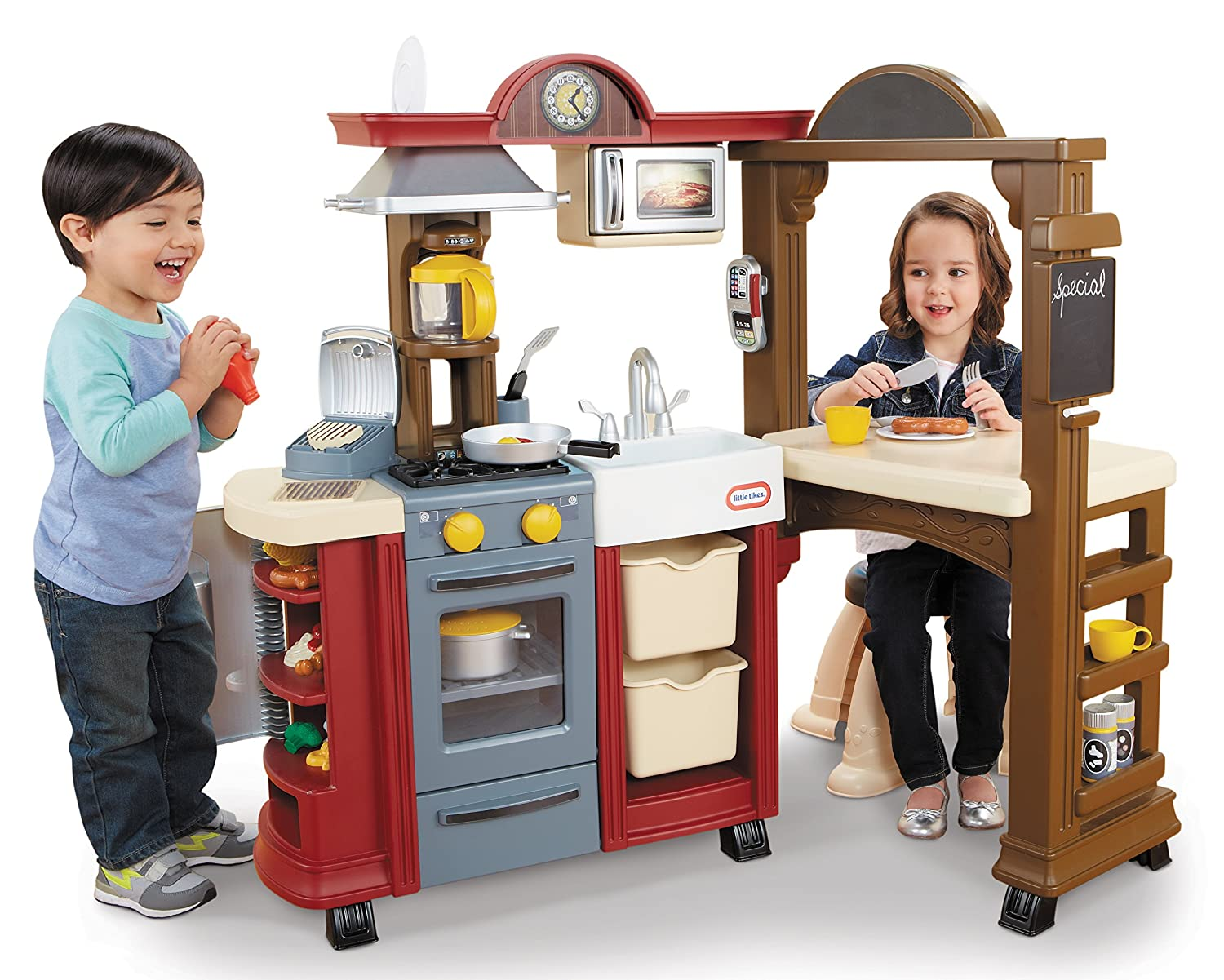 Elegant Amazon.com: Little Tikes Cook U0027N Dine Bistro Kitchen (Red) By Little Tikes:  Toys U0026 Games