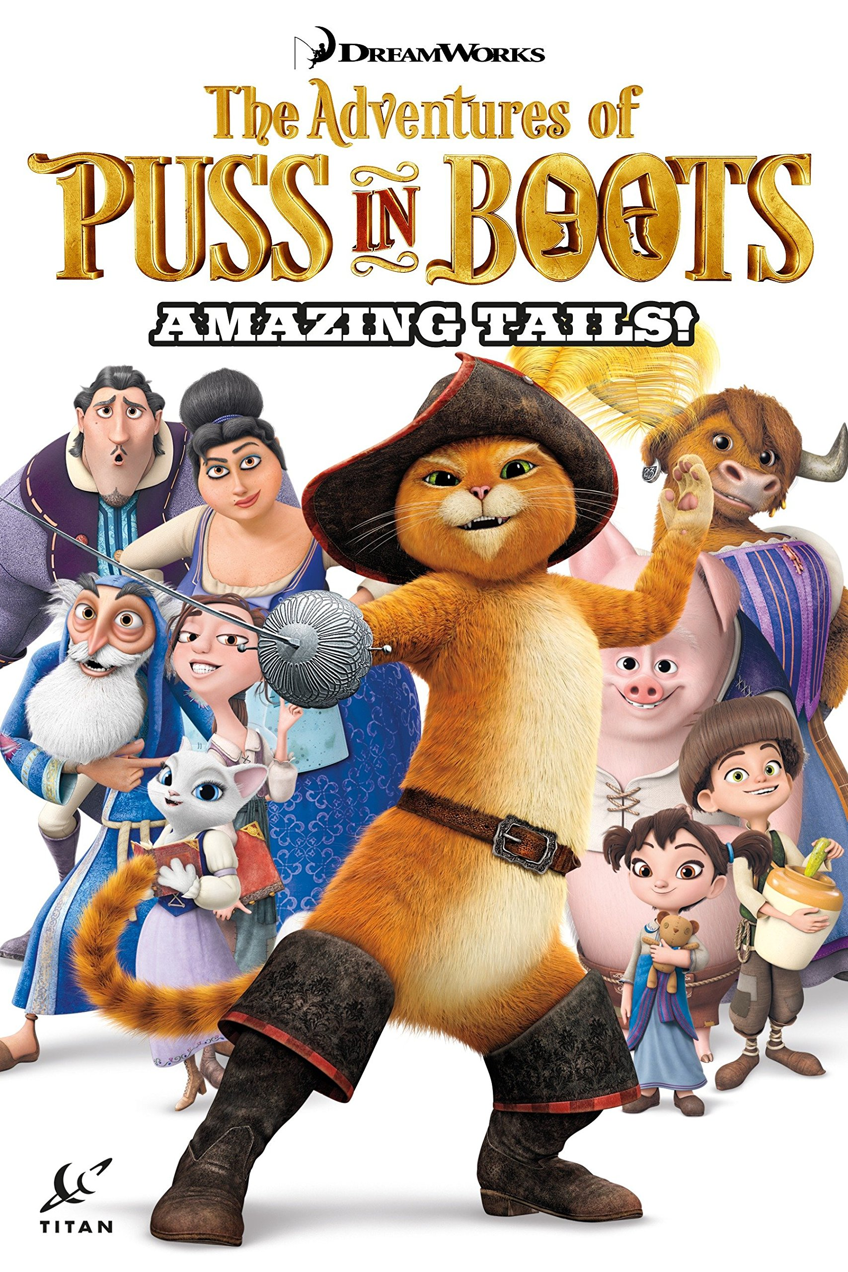 Puss in Boots Collection Volume 1 - Amazing Tails PDF