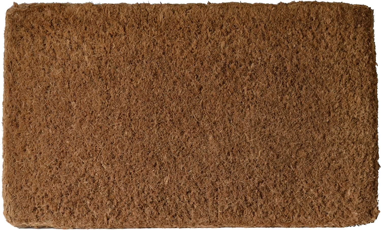 Imports Decor 1203brm Plain Coir Doormat 18 X 30 Inch Garden Outdoor