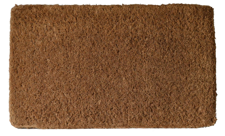 Amazon.com : Imports Decor Plain Coir Doormat, 18 x 30-Inch ...