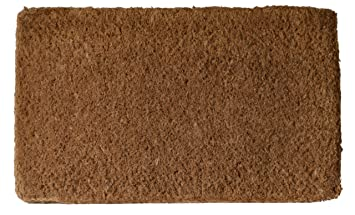 Exceptional Imports Decor Plain Coir Doormat, 30 X 48 Inch