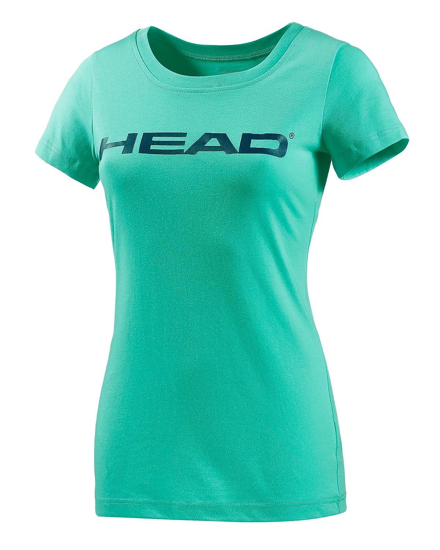 Head camiseta de tenis para mujer, color - Verde menta/azul ...
