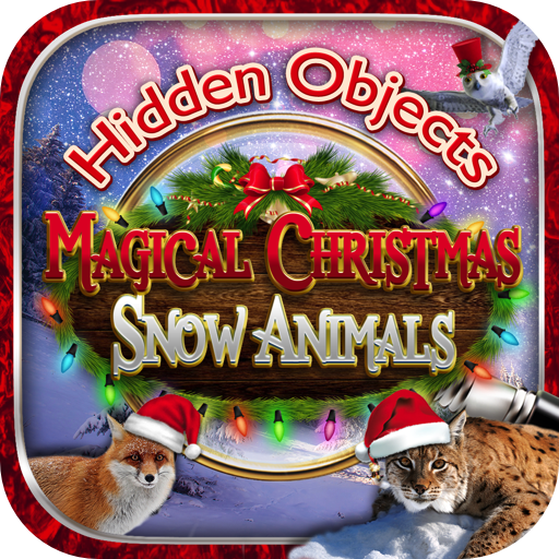 - Hidden Objects Magical Christmas Snow Animals - Santa & Holiday Picture Hunter Games