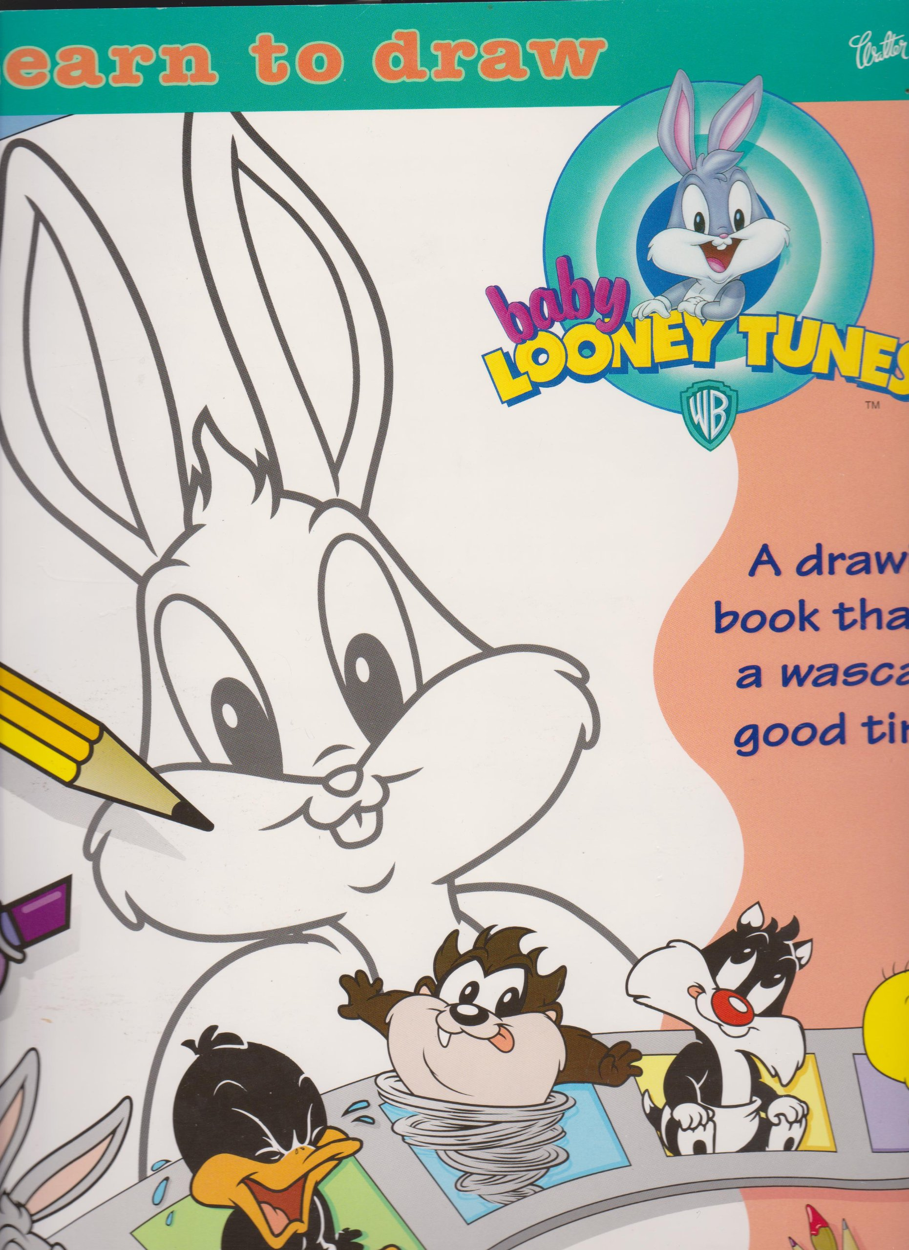 Baby Looney Tunes Coloring Pages Cartoon | Cartoon Coloring pages ... | 2560x1861