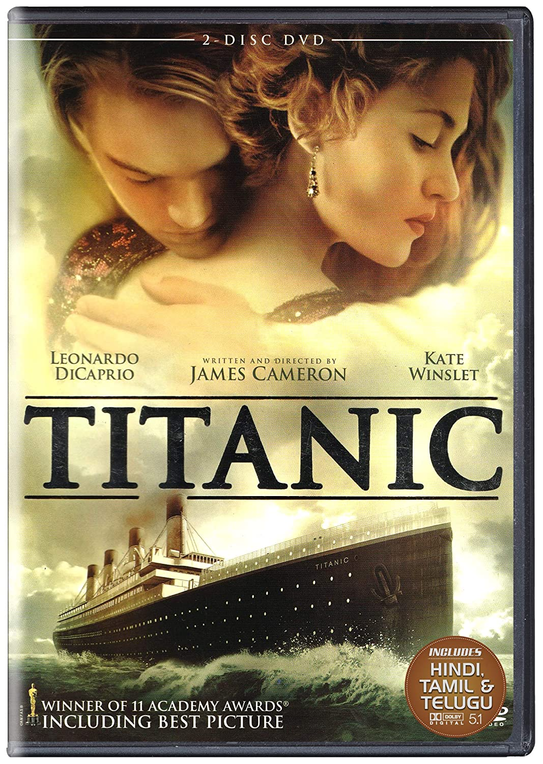 Amazon In Buy Titanic 1997 2 Disc Dvd Blu Ray Online At Best Prices In India Movies Tv Shows