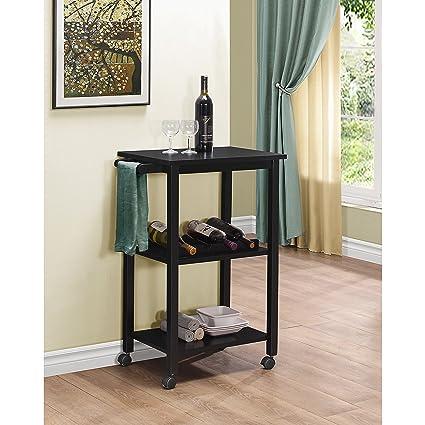Porch U0026 Den LoDo Curtis Kitchen Cart Black