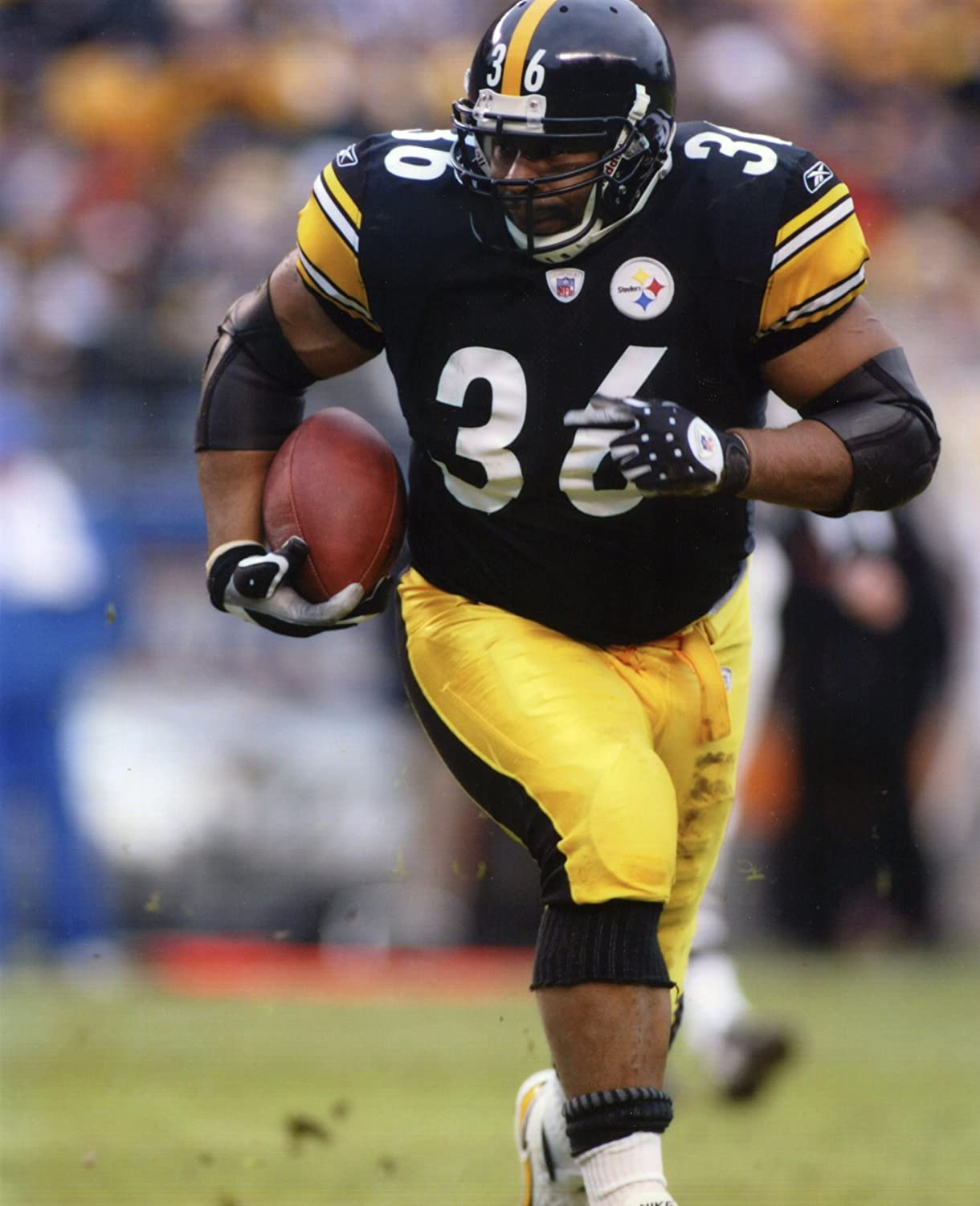 Pittsburgh Steelers Jerome Bettis During Super Bowl XL 8x10 Action Photo Picture
