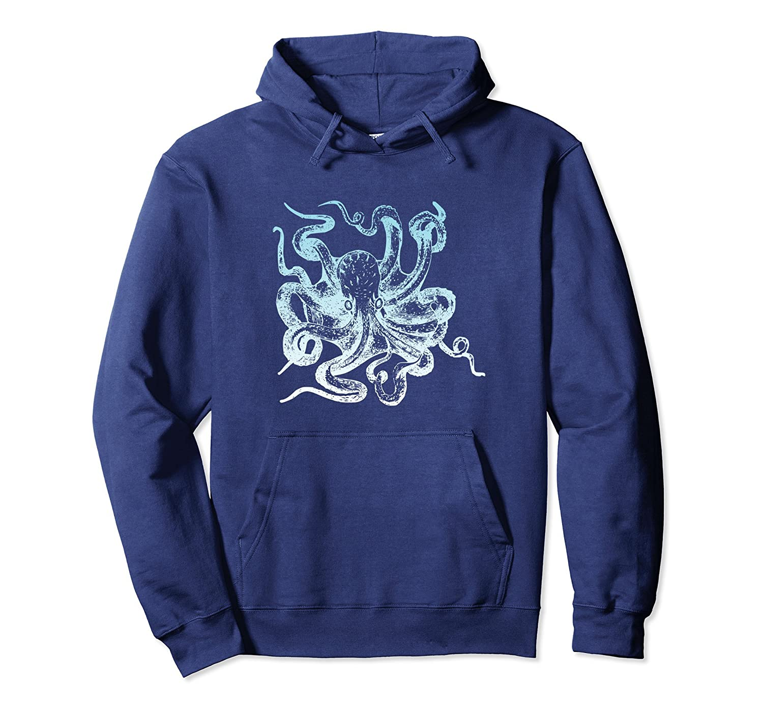 Love Of Sea Monsters Octopus Kraken Cthulhu Gift Hoodie Alottee