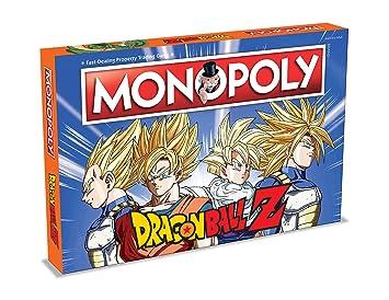 Winning Moves 2565 Dragon Ball Z Monopoly Juego De Mesa Amazon Es