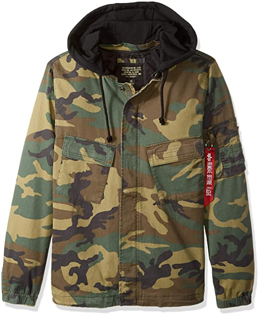 outlet store sale 0ac16 af279 Alpha Industries Men's Fortitude Americana Field Coat