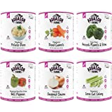 Augason Farms Vegetable Variety Kit #10 Can 6 Pack