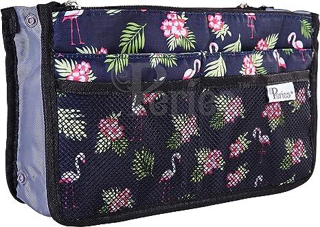 Periea Chelsy Red /& White Polka Travel Bag Handbag Organiser Insert
