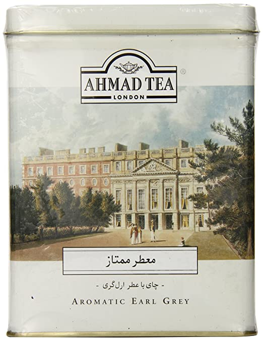 Ahmad Tea Earl Grey Aromatic Loose Tea, Ceylon Caddy