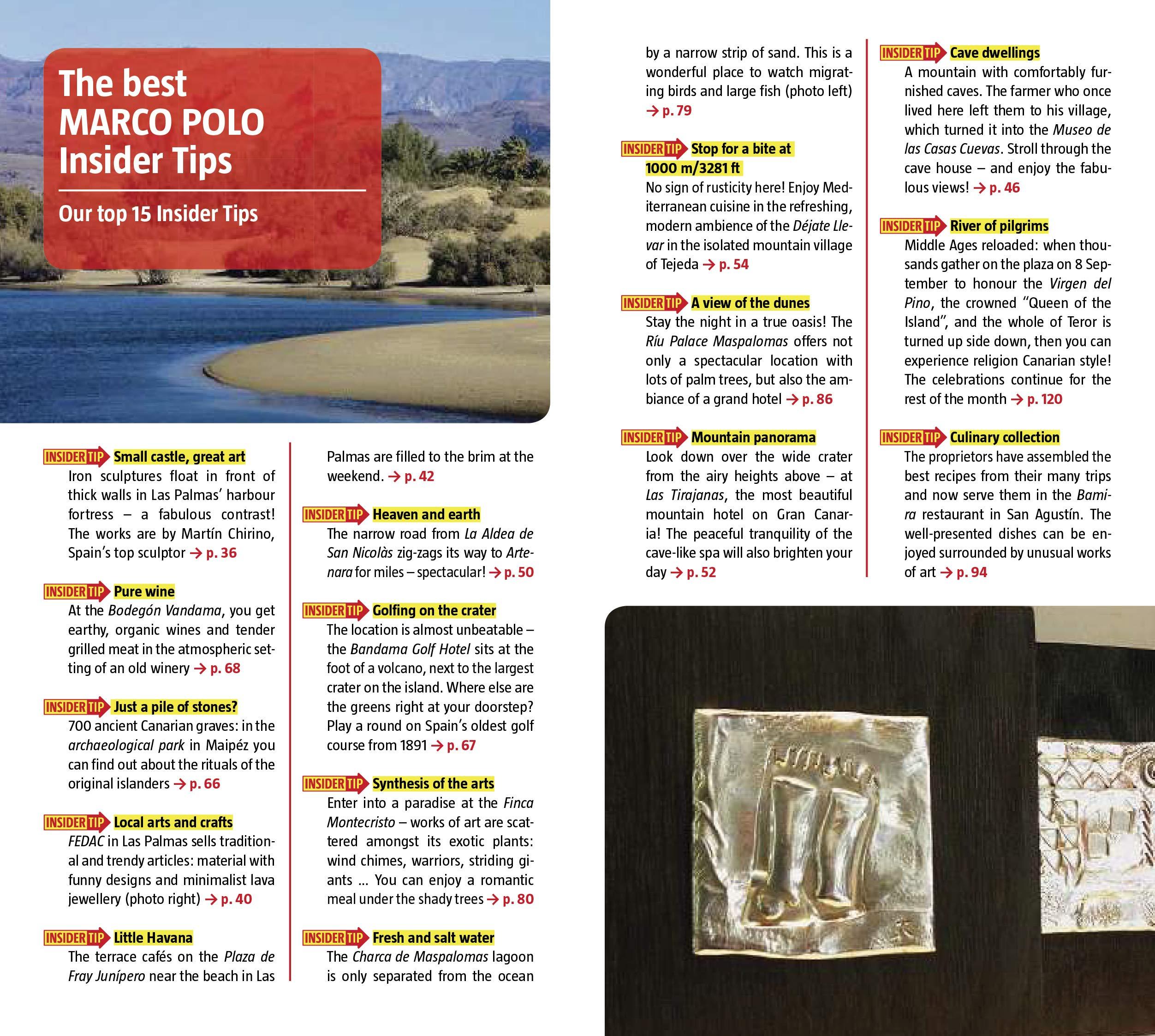 Gran Canaria Marco Polo Pocket Guide (Marco Polo Pocket