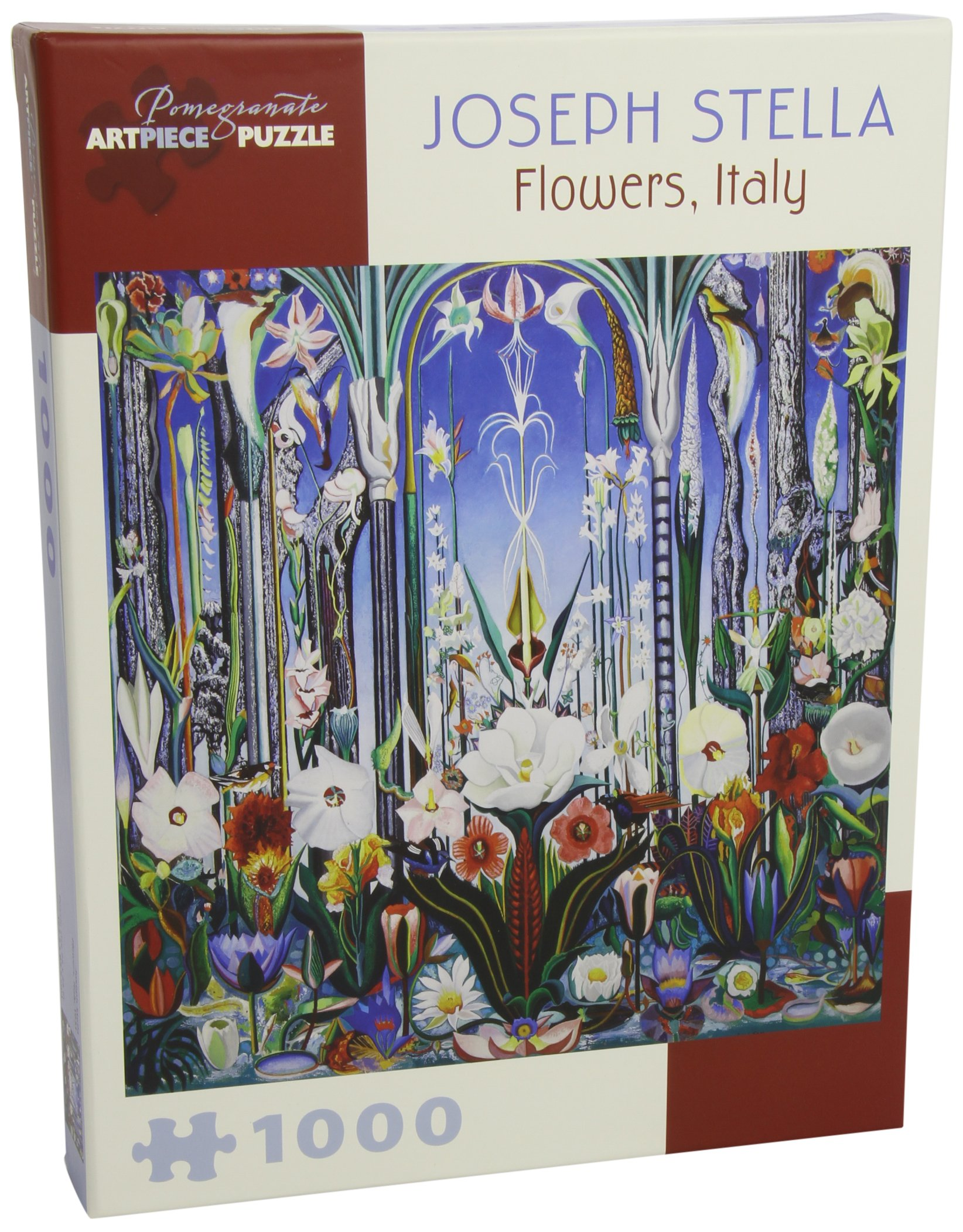 Read Online Joseph Stella - Flowers, Italy: 1,000 Piece Puzzle pdf