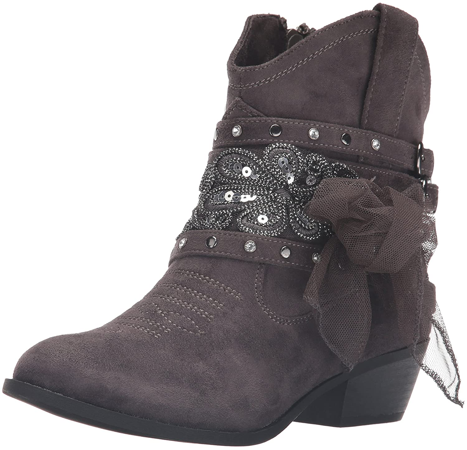 Not Rated Women's Midas Ankle Bootie B01F6BZ26E 6 B(M) US Grey