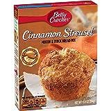 Betty Crocker Muffin & Quick Bread Mix Cinnamon Streusel 13.9 oz Box