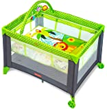 Fisher-Price Baby Boy's And Girl's Playmate Portable Cot