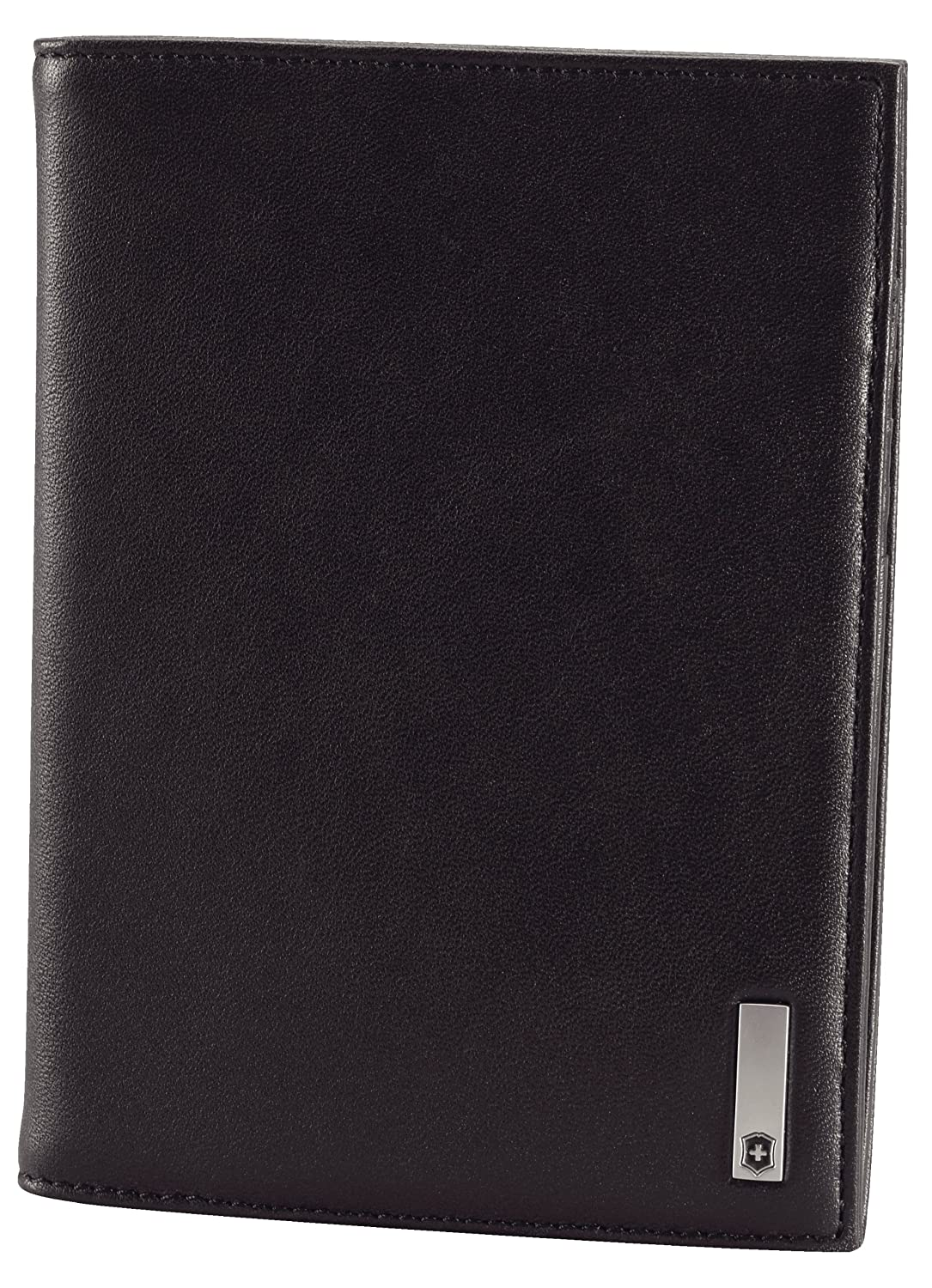 Victorinox Men's Altius 3.0 Oslo Leather Passport Cover Black One Size Victorinox - TRG Group 301633