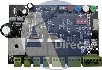 Cuadro de Maniobra Universal para puertas batientes 24V Multimarca Nice Sommer BFT FAAC Beninca: Amazon.es: Bricolaje y herramientas