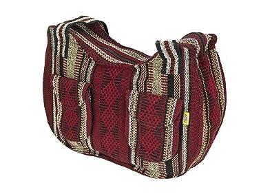 07b24201dc95 PINZON Large Ladies Summer Everyday Bag FAIR TRADE Casual Canvas Handbag  for Women Lightweight Mexican Hippie