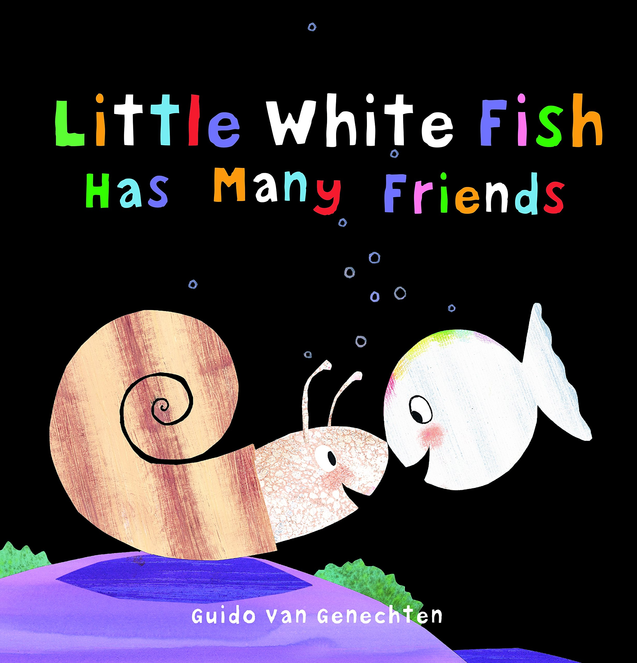Little White Fish Has Many Friends