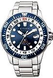 [シチズン] 腕時計 プロマスター エコ・ドライブ マリンシリーズ GMTダイバー BJ7111-86L メンズ シルバー