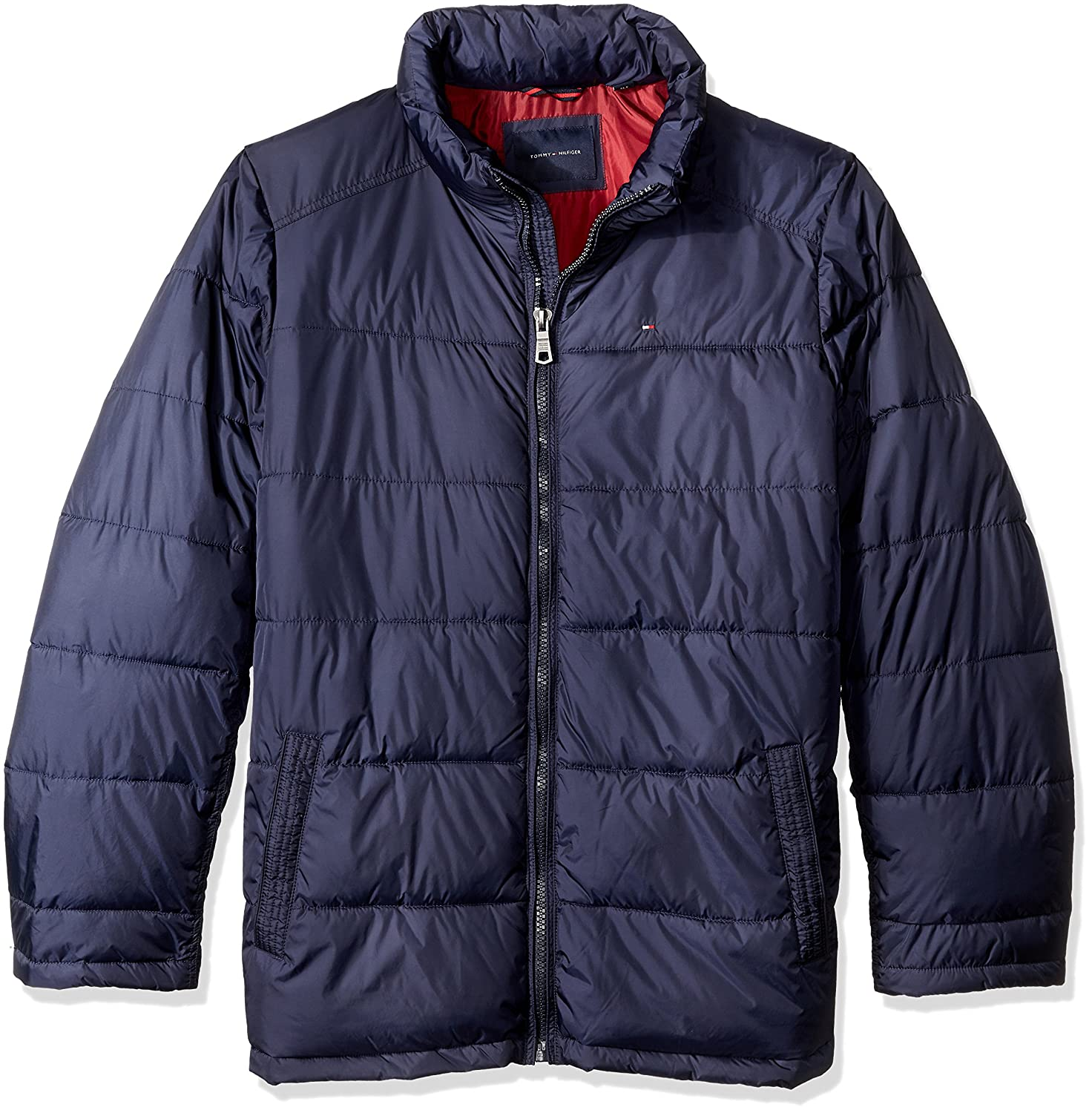 Tommy Hilfiger Men's Size Tall Down Midweight Quilted Puffer Jacket 154TN682