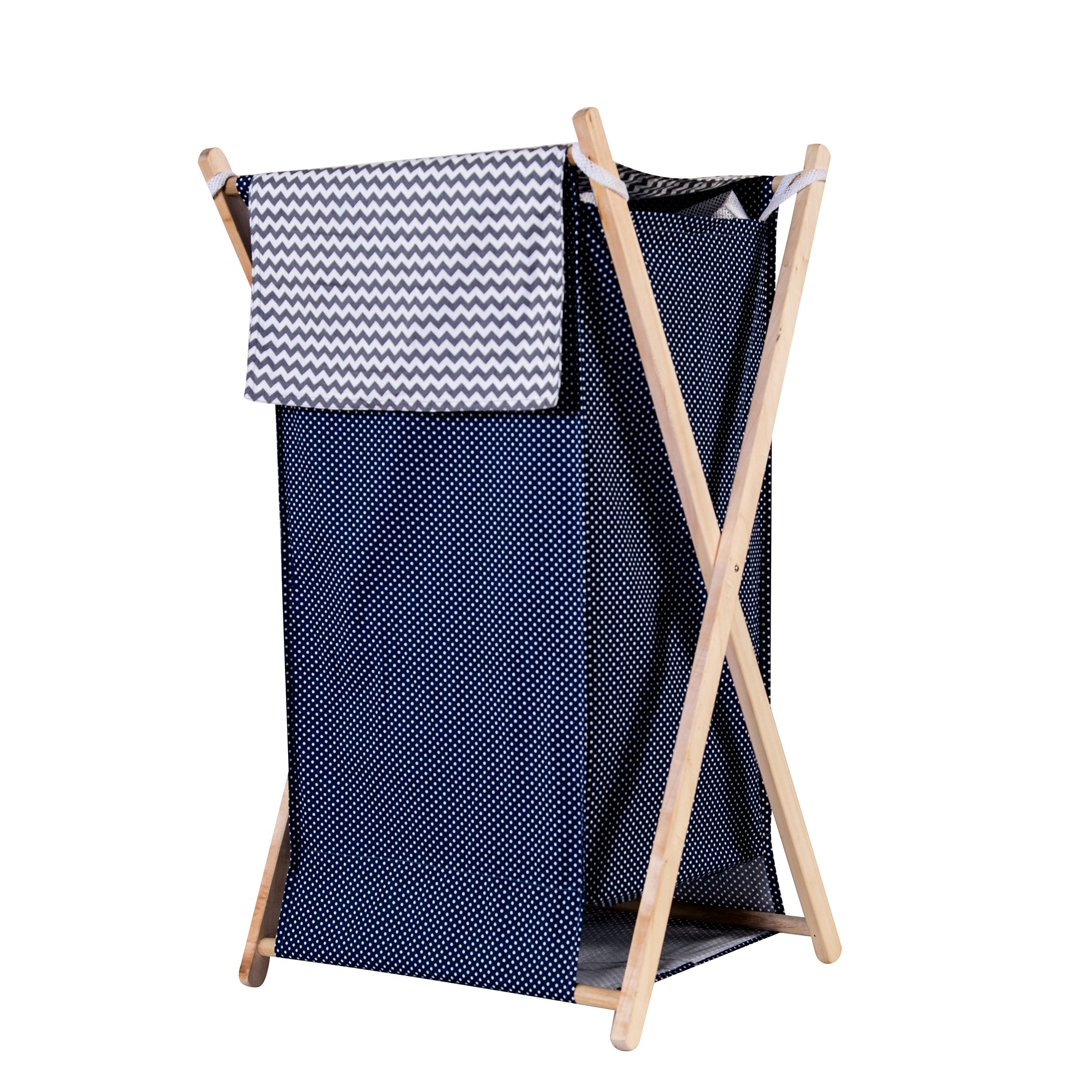 Trend Lab Perfectly Navy Hamper Set by Trend Lab