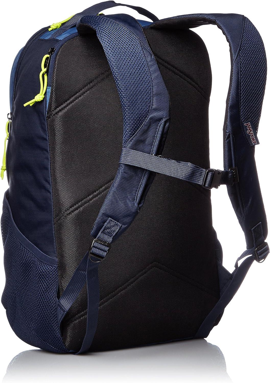 JanSport Mens Digital Carry Mainstream Beacon Backpack Navy Moonshine//Lime