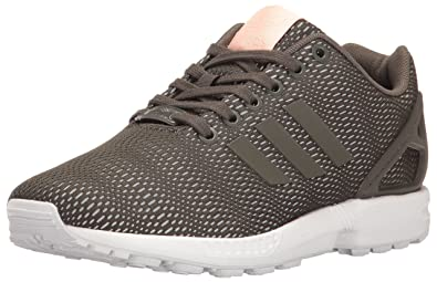 adidas Originals Women\u0027s ZX Flux W Fashion Sneaker, Utility Grey Utility  Grey/White,