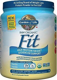 garden of life raw organic fit protein vanilla 457g