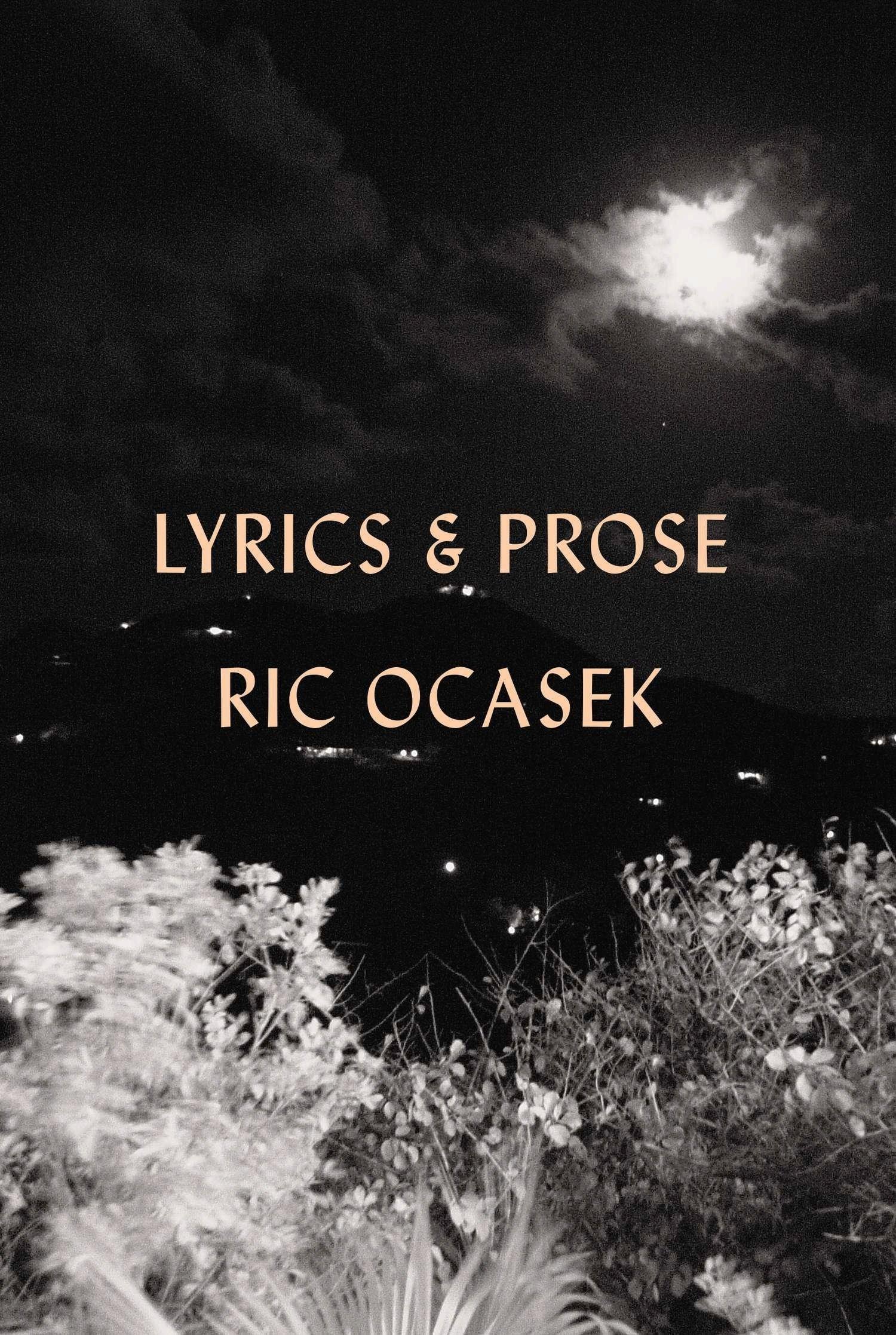 Lyrics Prose Ric Ocasek Amazon Books