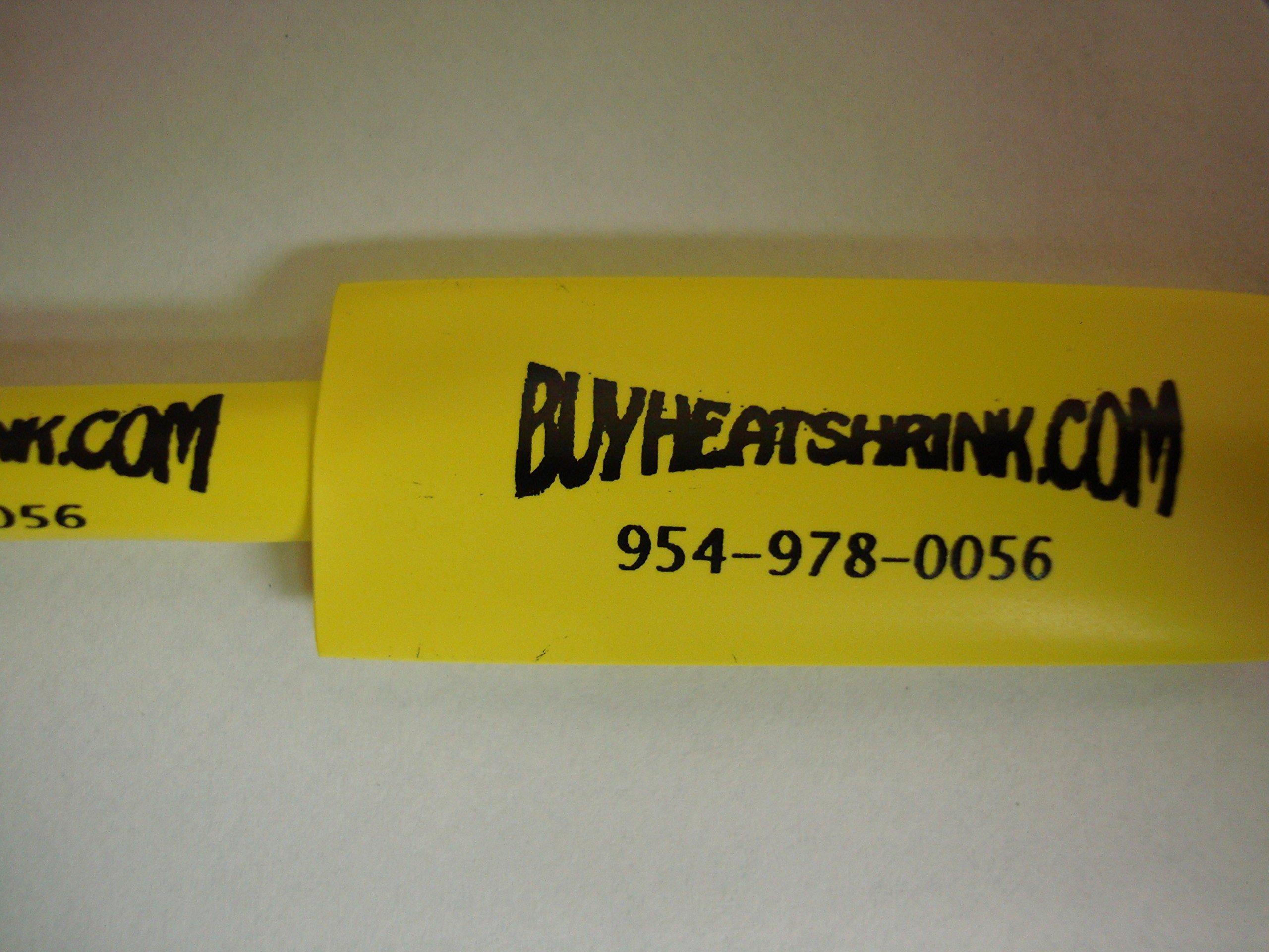 BuyHeatShrink 1/4'' 2:1 Polyolefin Heat shrink Tubing (250ft/spool) - White