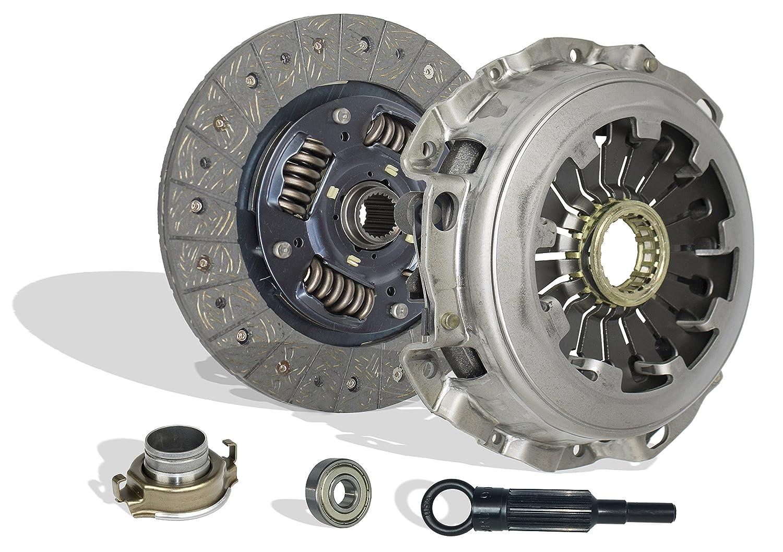 Clutch Kit Works With Subaru Impreza Baja Forester 9-2X Turbo Xt Aero WRX Crew Cab Limited Wagon Sedan 2.0L 2.5L H4 GAS DOHC Turbocharged
