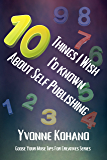 10 Things I Wish I'd Known About Self-Publishing: Goose Your Muse Tips for Creatives Series