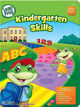 Amazon.com : LeapFrog Kindergarten Skills Workbook with 60 Pages ...
