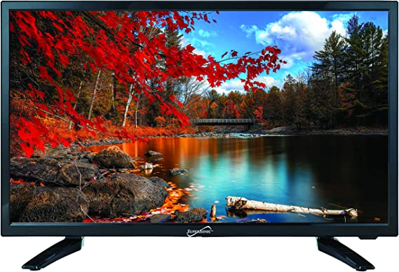 """Amazon.com: SuperSonic SC-2411 LED Widescreen HDTV & Monitor 24"""" Flat  Screen with USB Compatibility, SD Card Reader, HDMI & AC/DC Input: Built-in  Digital Noise Reduction (DC Cable not Included): Electronics"""