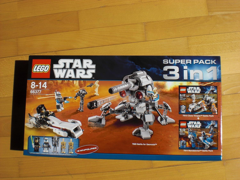 günstig kaufen LEGO StarWars Super Pack 3 in 1 66377