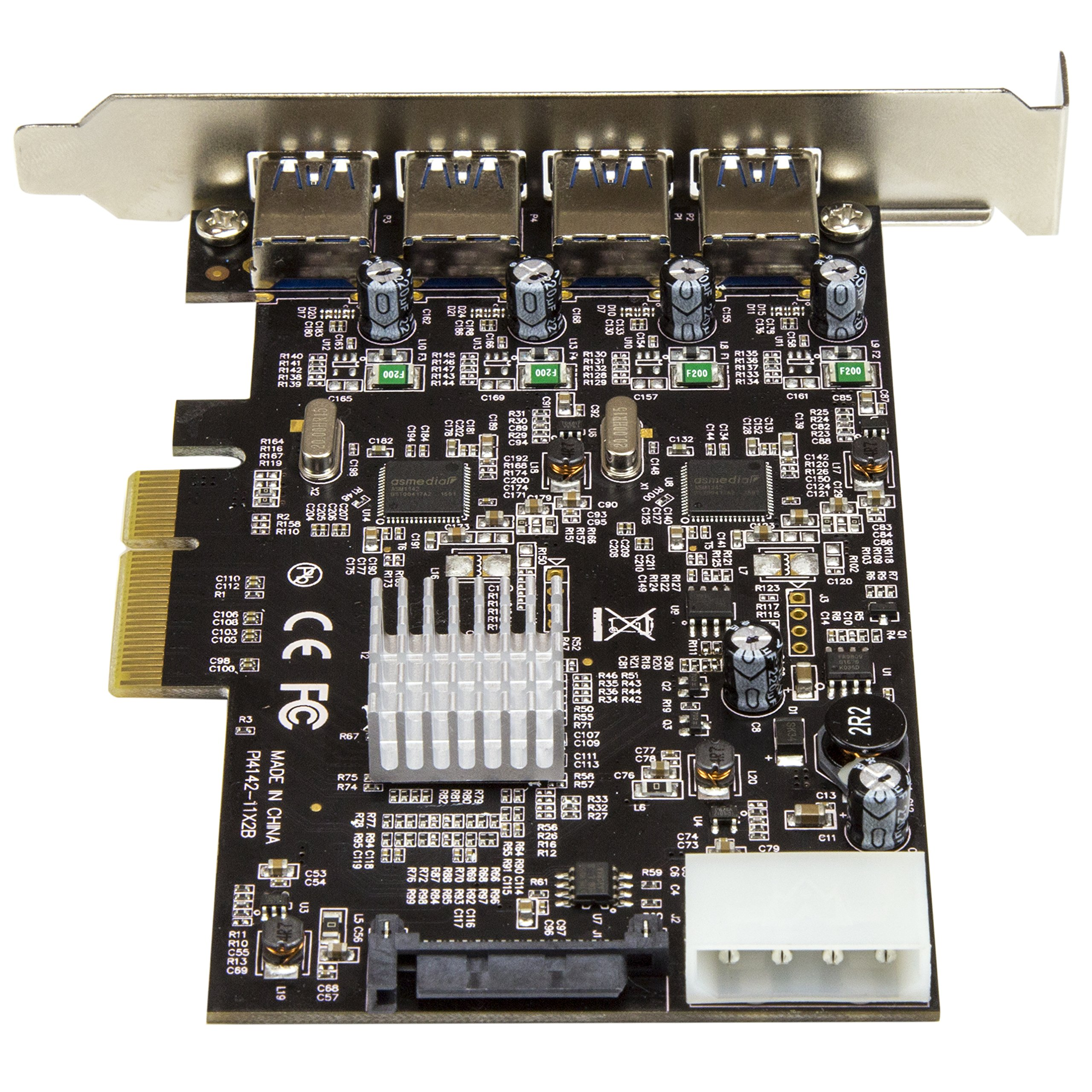 StarTech.com USB 3.1 PCI-e Card – 4 Port – 4x USB-A with Two 10Gbps Dedicated Channels – Expansion Card – USB 3.1 card by StarTech (Image #4)