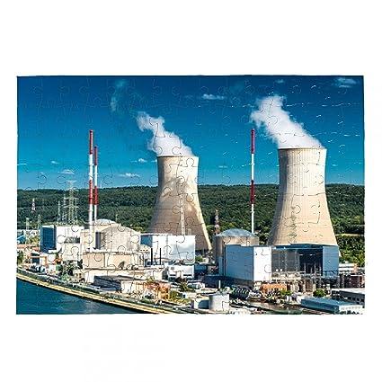 Puzzle central nuclear - A3 - 38cm x 26cm - 252 piezas ...