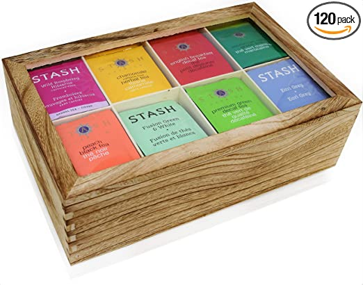 Estuche surtido de bolsas de té de 120 unidades – Pack de ...