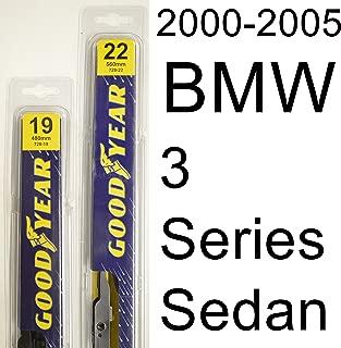 "product image for BMW 3 Series Sedan (2000-2005) Wiper Blade Kit - Set Includes 22"" (Driver Side), 19"" (Passenger Side) (2 Blades Total)"