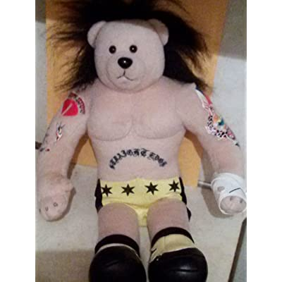 WWE Offical Plush Teddy Bear 16 Inches Cm Punk (hardly used): Office Products