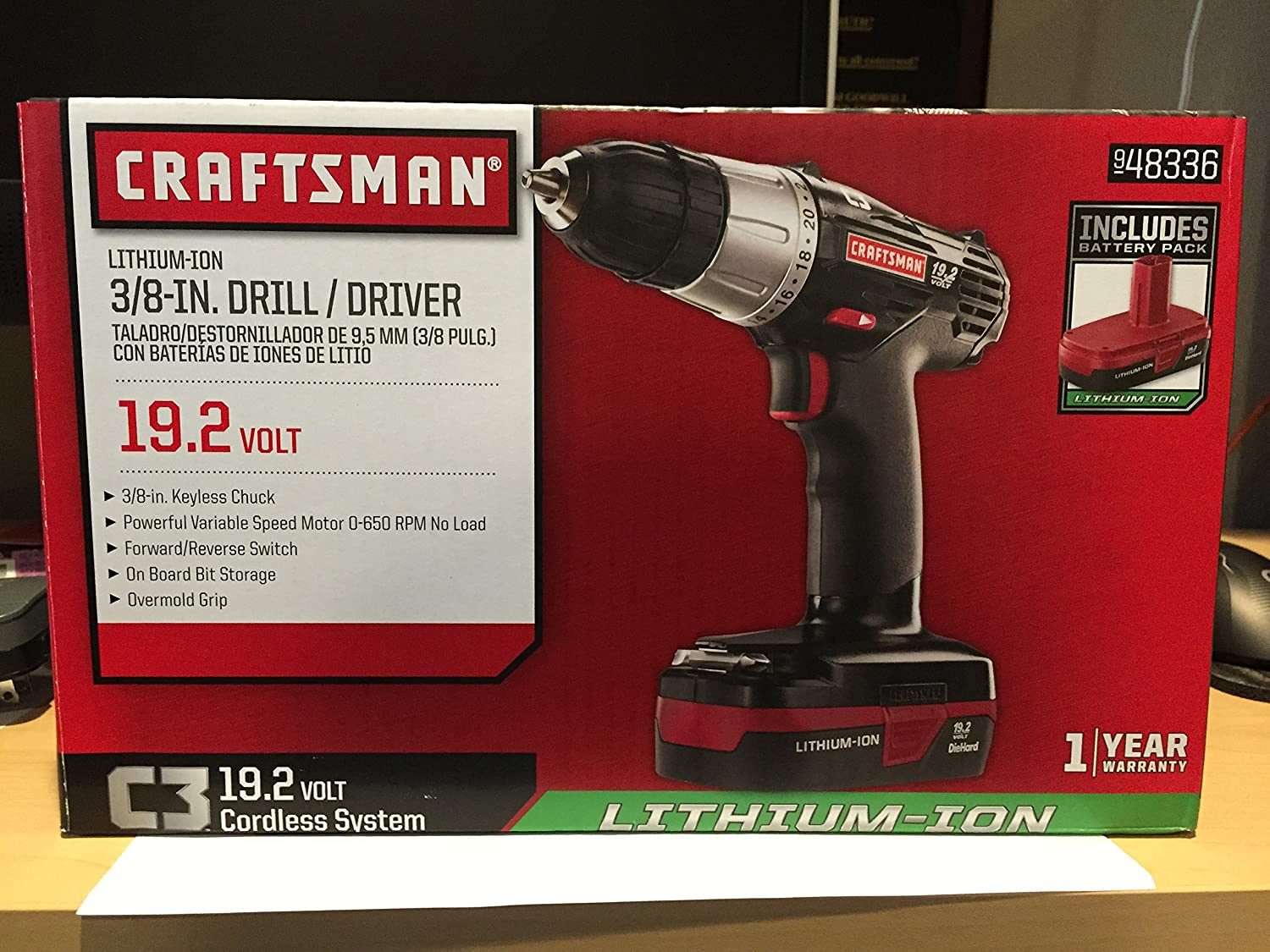 2 x Brand new Craftsman C3 19.2 Volt Chargers Plus Tool Bag