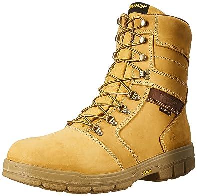 d6f732e4225 Wolverine Men's Barkley 8 Inch Waterproof Work Boot